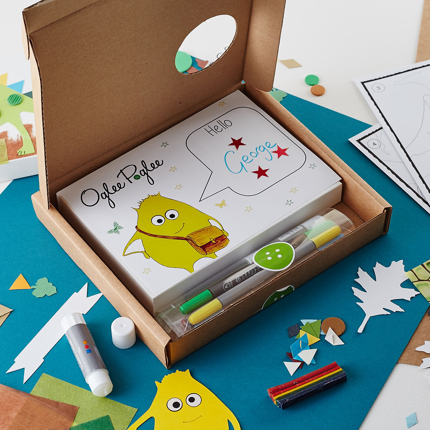 Oglee poglee children 39 s craft kits classes and parties for Craft kits for preschoolers