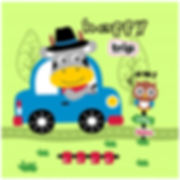 cow-driving-car-funny-animal-cartoon_413