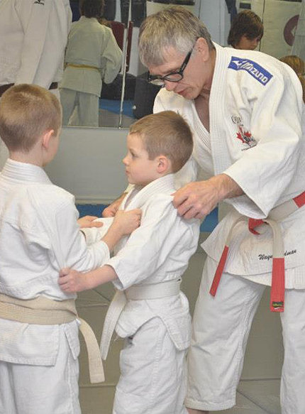 Sensei Wayne Erdman Teaching