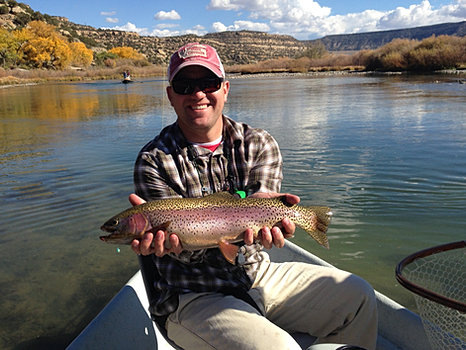 San juan river fly fishing guides born n 39 raised for Fly fishing new mexico