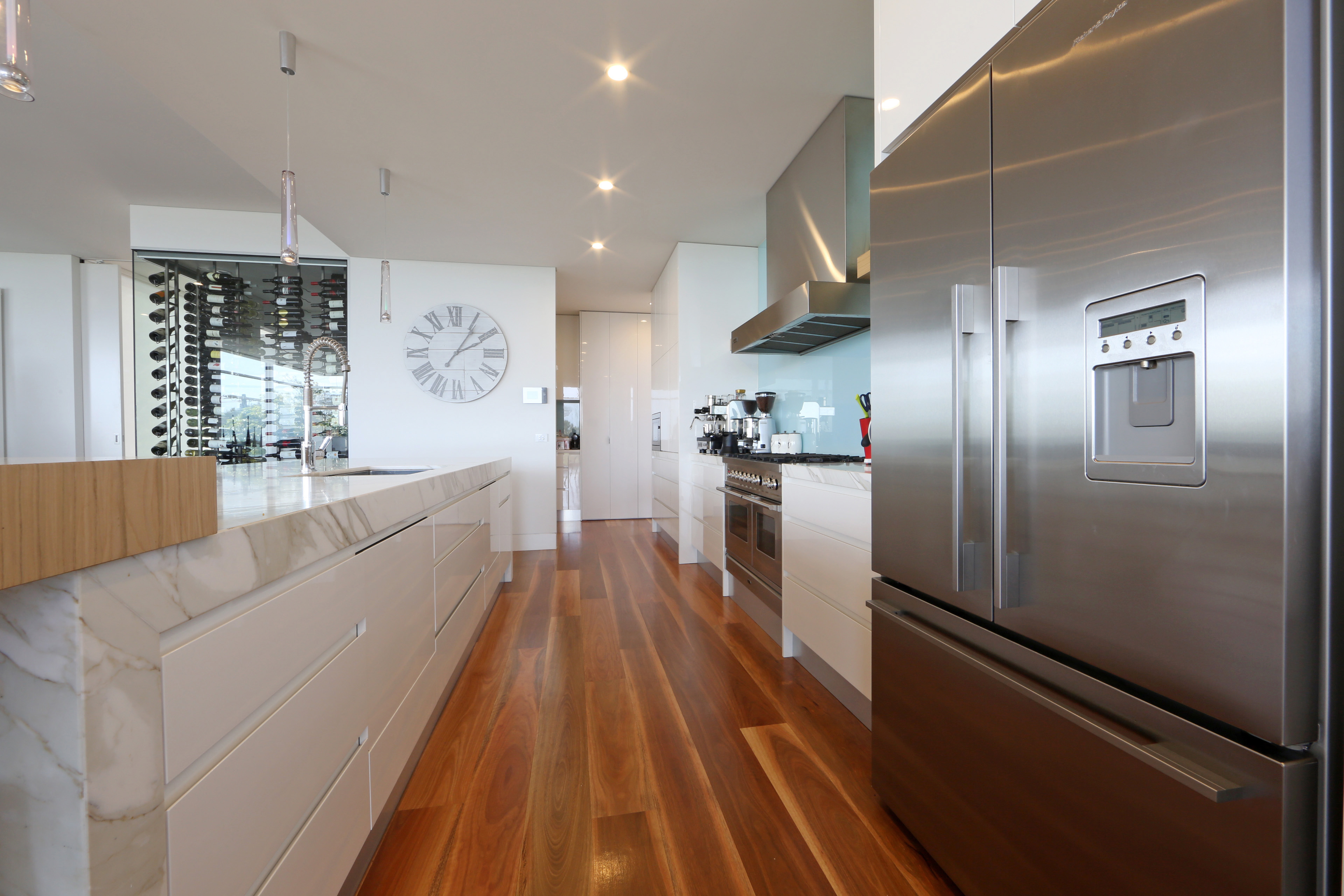 Image Result For Contemporary White Kitchen