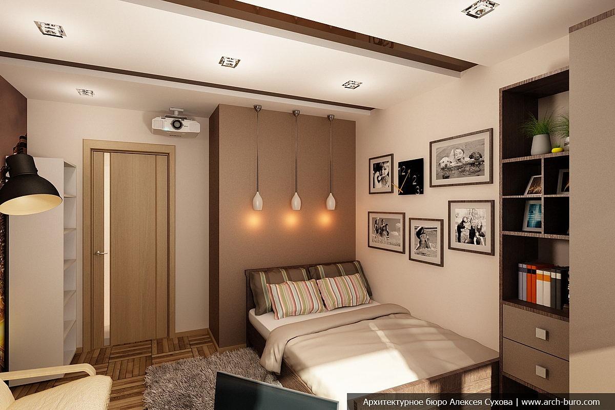 Проект четырехкомнатной квартиры, смотрите фото всего интерь.