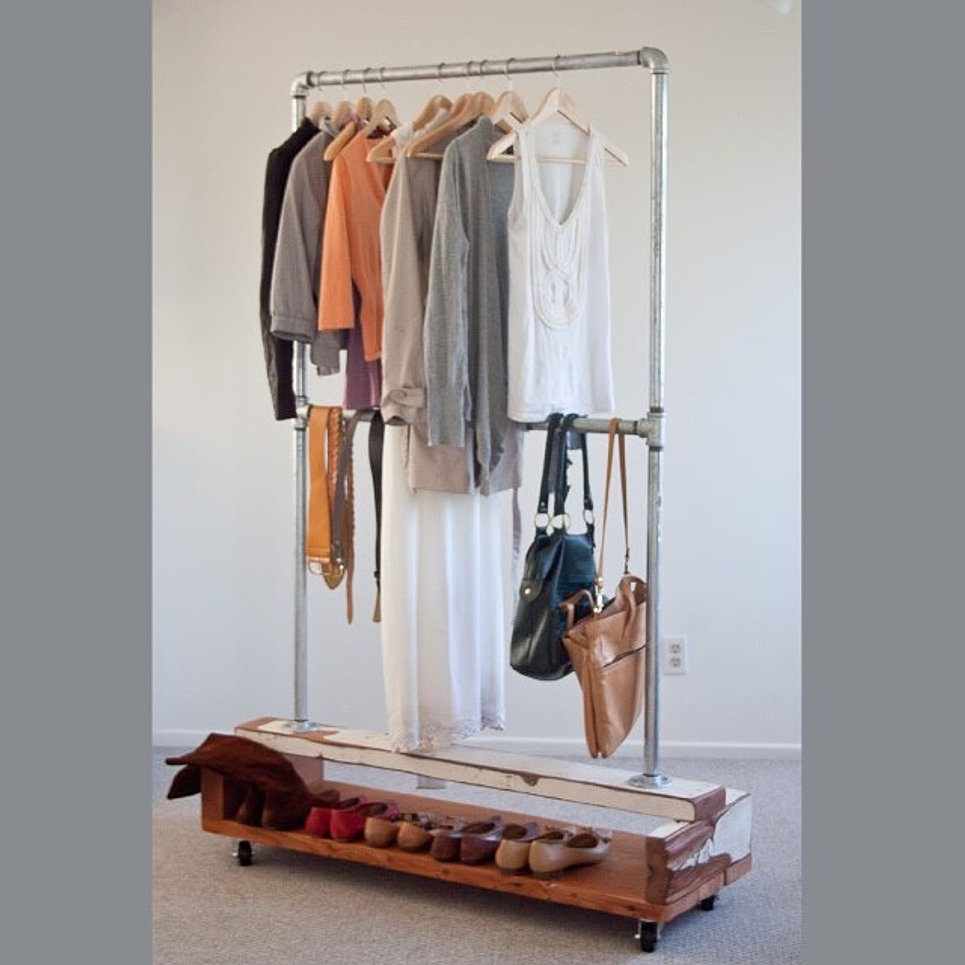 Вешалки для одежды своими руками из пластиковых труб