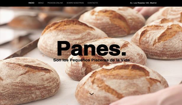 Plantillas web html de caf y pasteler a wix - Plantillas para reposteria ...