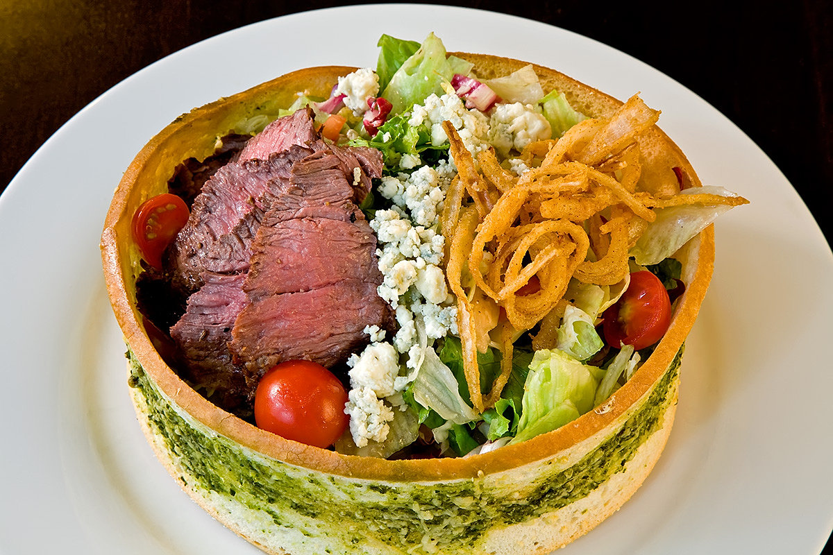 ... Fire Oven Restaurant in Rosemont | grilled steak and blue cheese salad