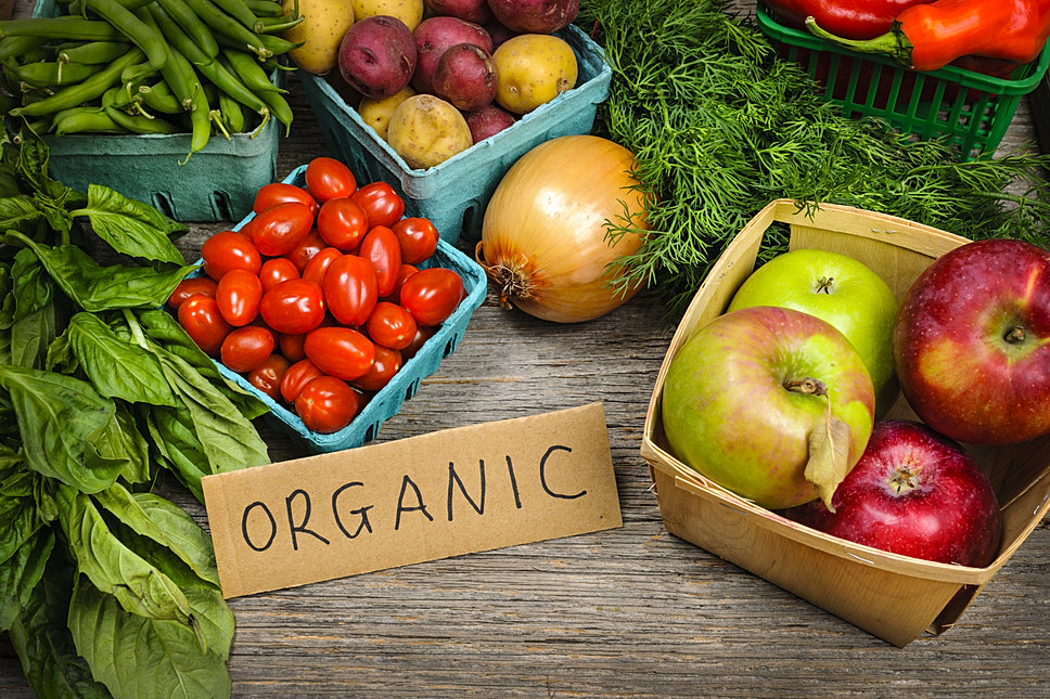 Grab some organic produce