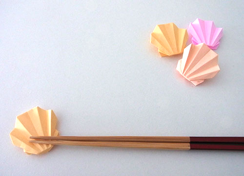 簡単 折り紙 折り紙で作る箸置き : divulgando.net