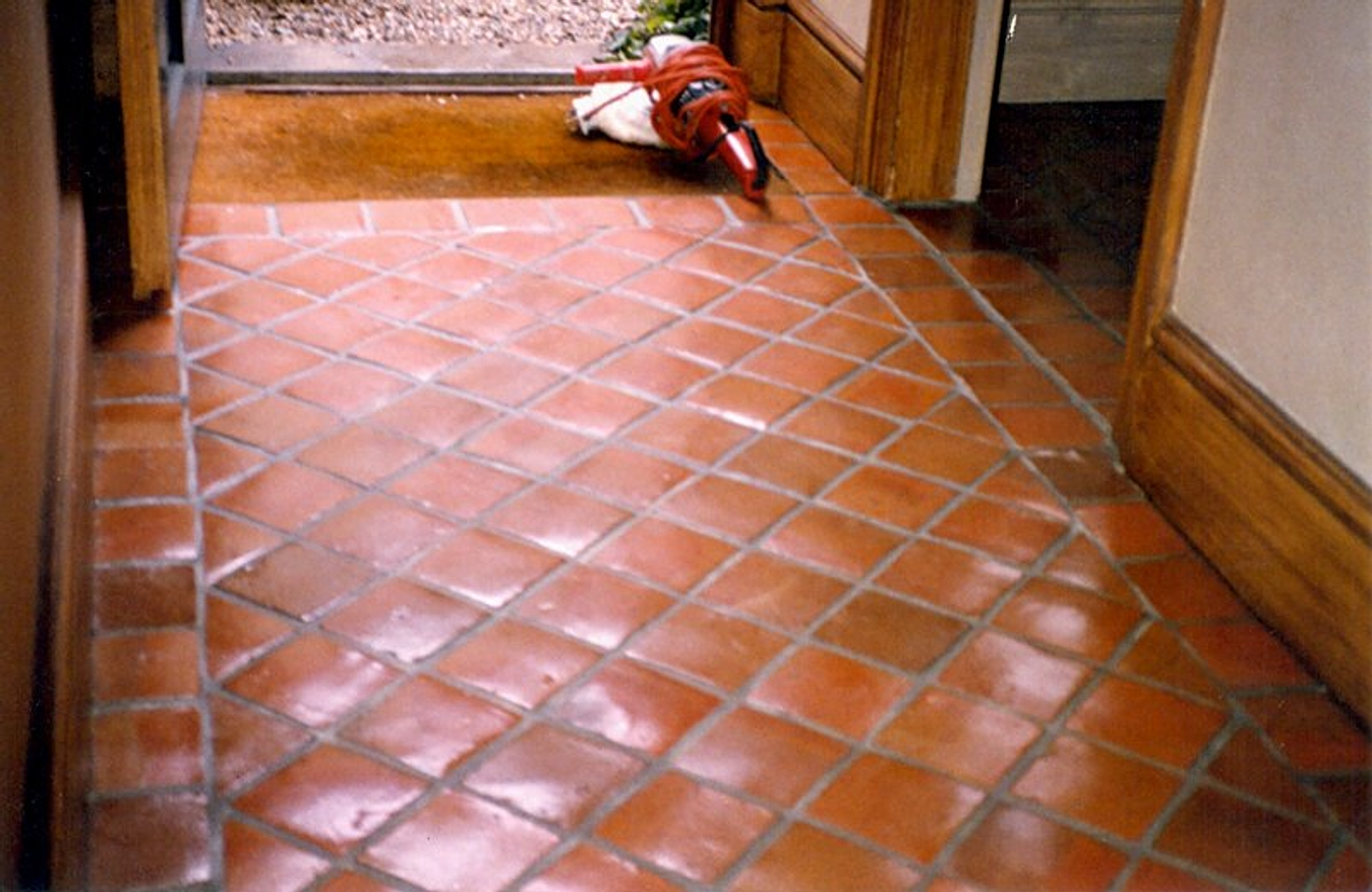Terracotta Ceramic Floor Tiles
