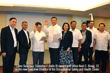 DOLE-OSHC and Safety Organization Of Negros Occidental conduct ...