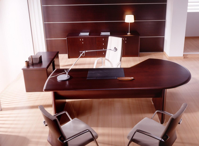 de escritório modernos de direção totalmente fabricados em madeira  #371314 1500x1102