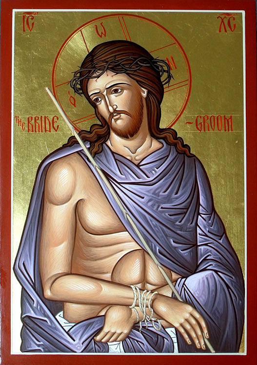 Christ the Bridegroom (Sposo) dans immagini sacre