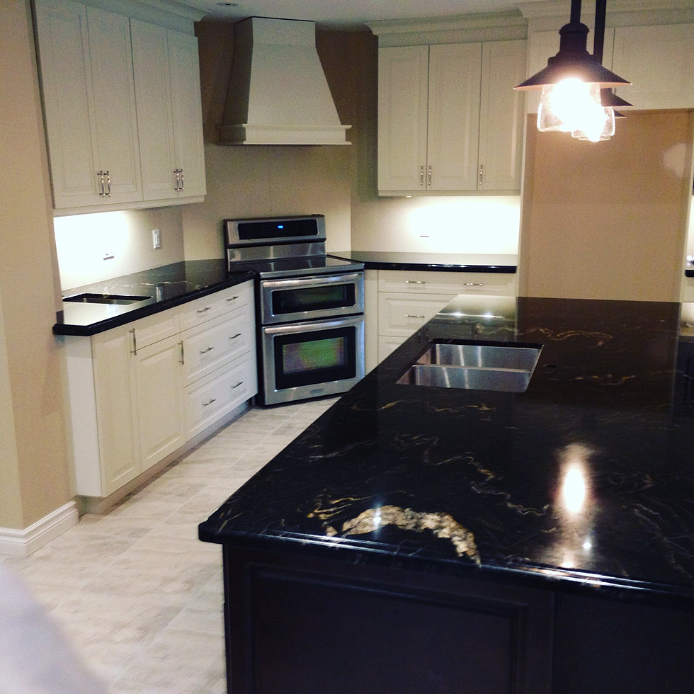 Titanium Granite Kitchen Brantford Granite Quartz