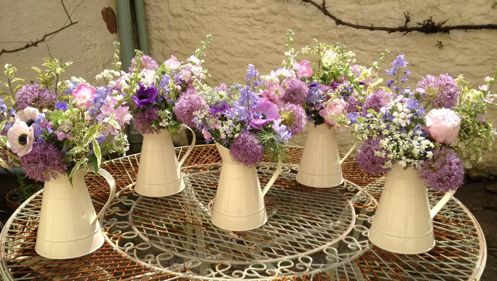 Larkspur And Lilac Wedding Flowers And Florist Based In