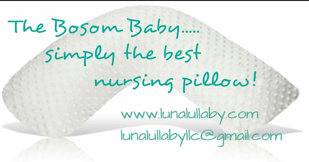 Nursing Pillow Bosom Baby Luna Lullaby