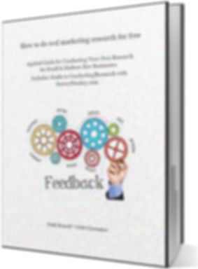 How to do real marketin research for free book