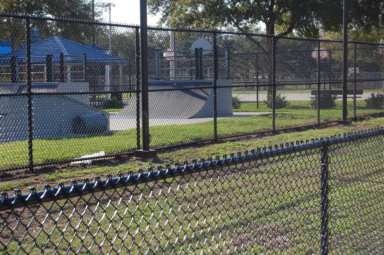 skate park chainlink