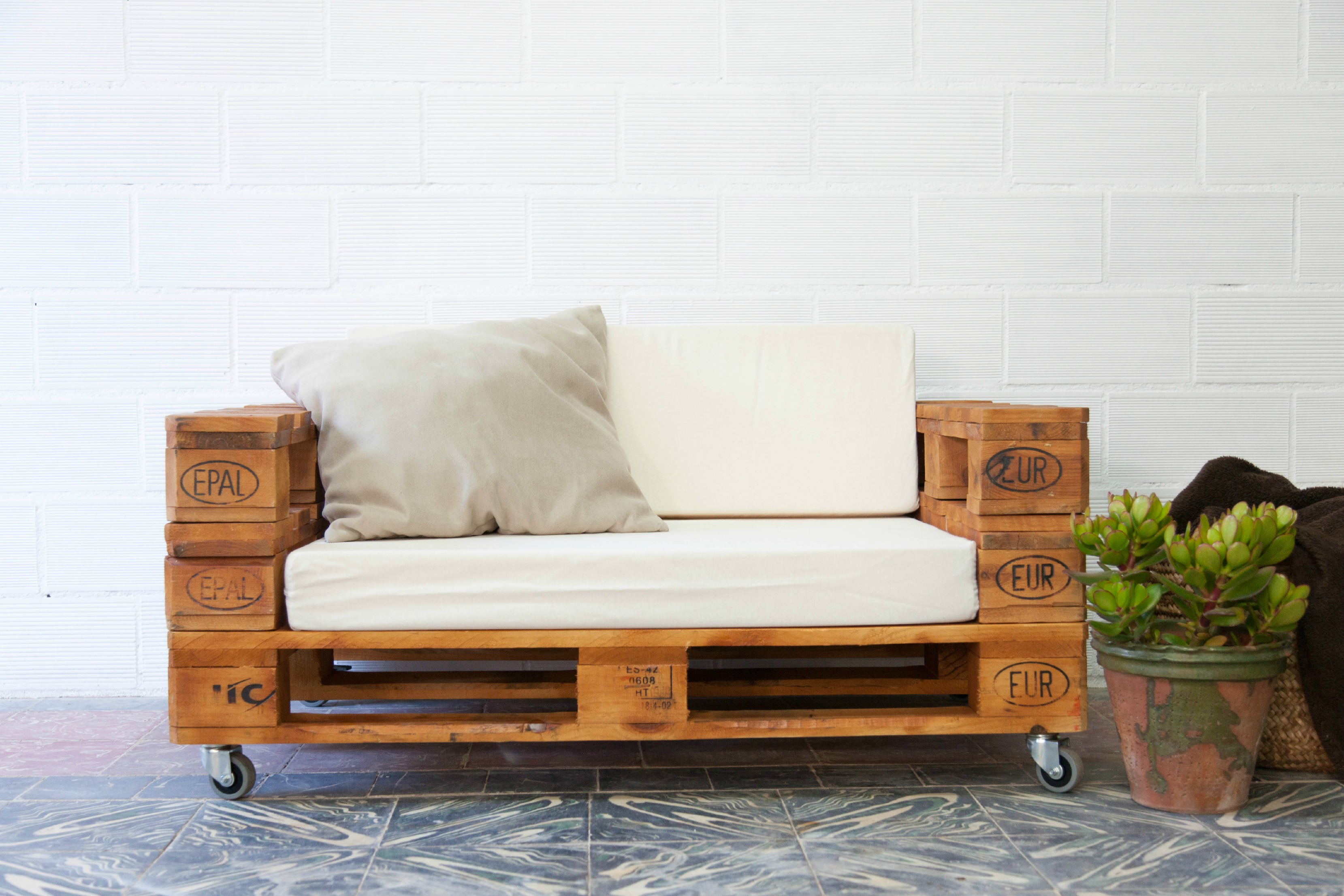 Muebles Hechos Con Palets Nueva Alternativa Para Tu Hogar - Muebles-hechos-con-estibas