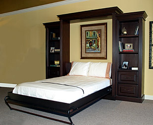 Custom murphy beds dallas furniture store fine custom for Bedroom furniture 75034