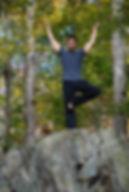 Jason Zagaro, tree pose