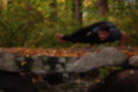 Jason Zagaro, yoga class