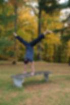 Jason Zagaro, handstand split