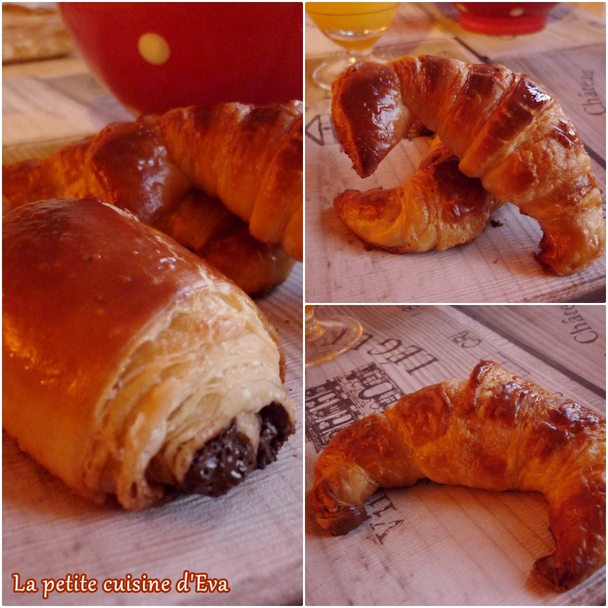 pains au chocolat et croissants la cuisine d cuisine recettes