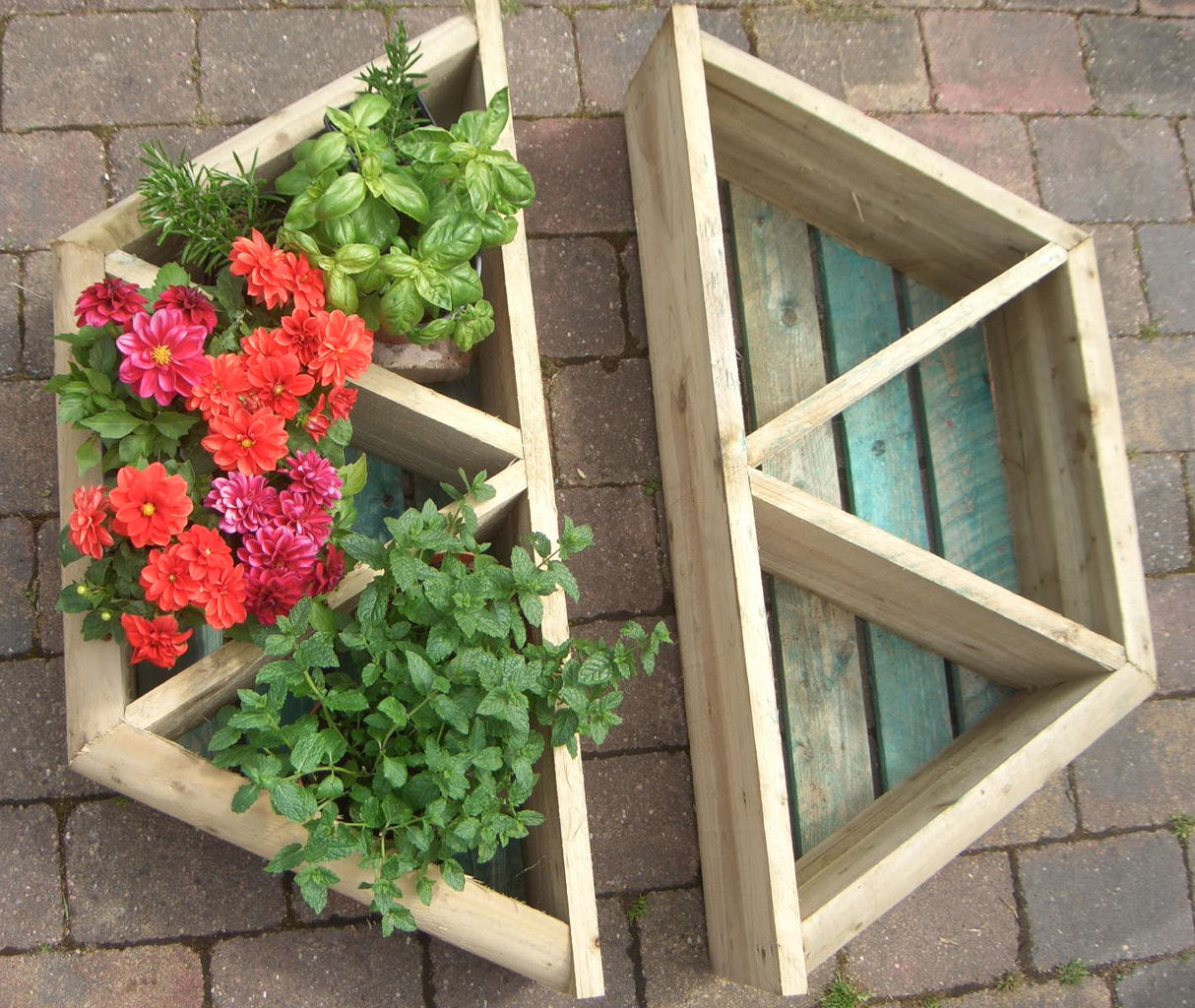 High Quality Handmade Wooden Planters