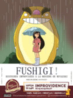 Fushigi - Affiche Avignon - Juillet 2019