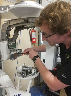 Forrest refurbishing a pre-owned Kodak CBCT system