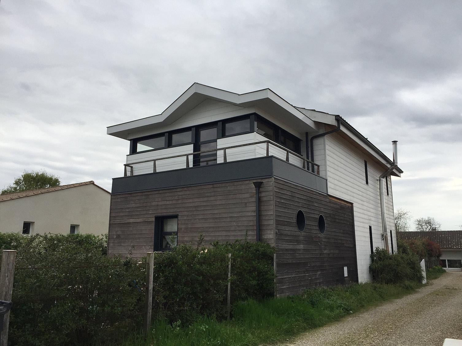 Constructeur maison ossature metallique gironde for Constructeur maison contemporaine gironde