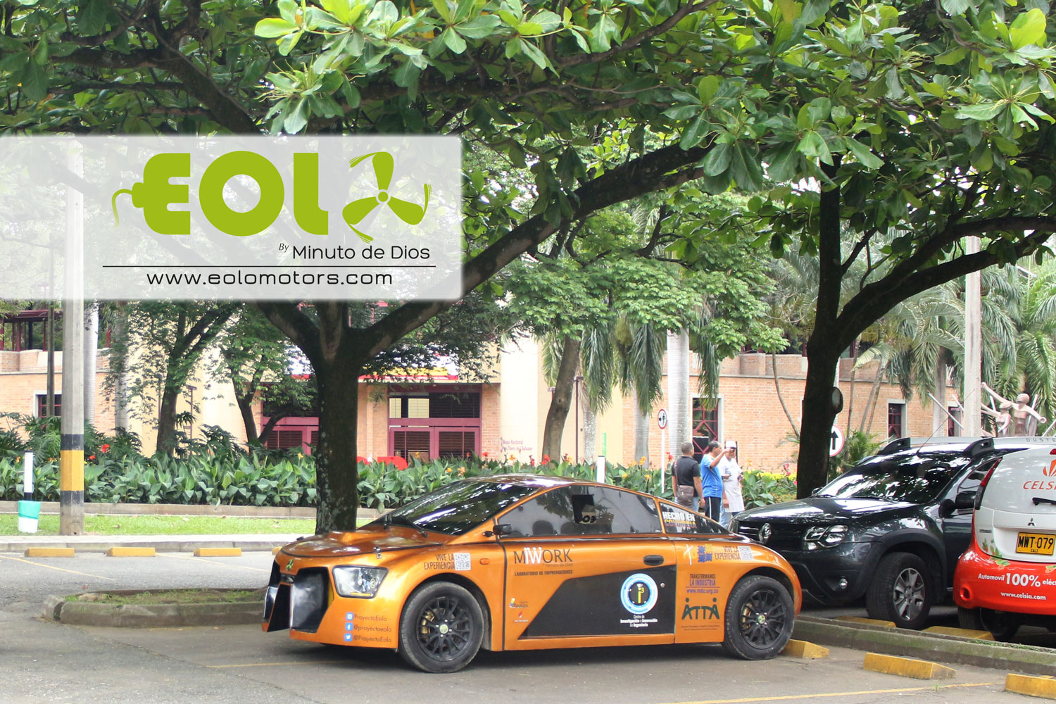 movilidad sostenible, eolo, tecnologia, carro electrico