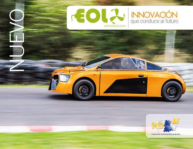 Eolo, El Primer Auto Eólico