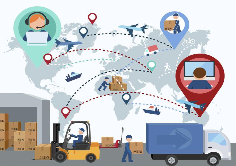 cadena de suministro, proveedores, obtencion, medios, materiales