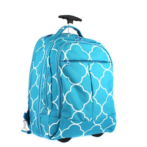 Blue Rolling Backpacks | Crazy Backpacks