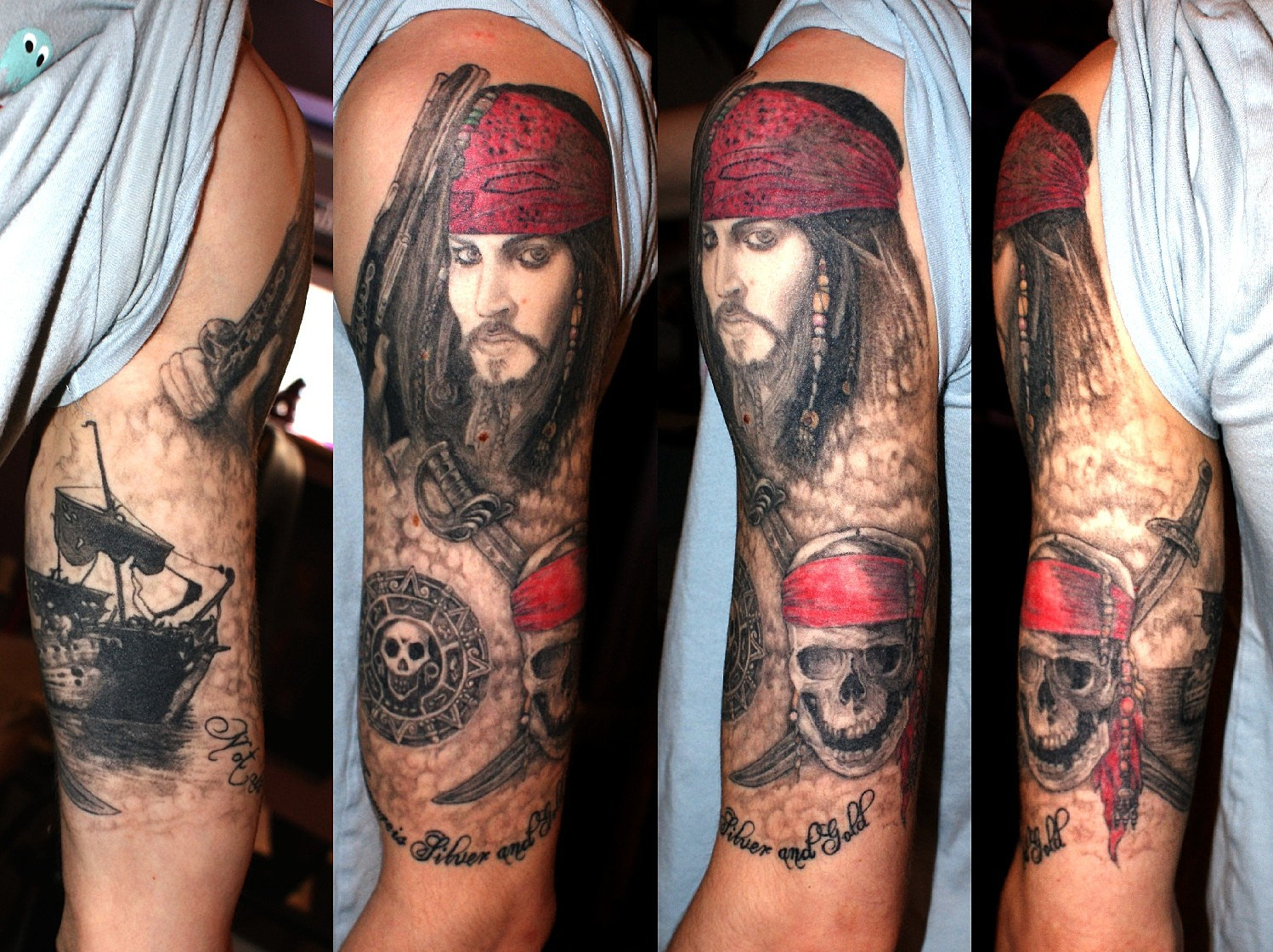 white horse tattoo studio berkshire pirates of the caribbean sleeve. Black Bedroom Furniture Sets. Home Design Ideas