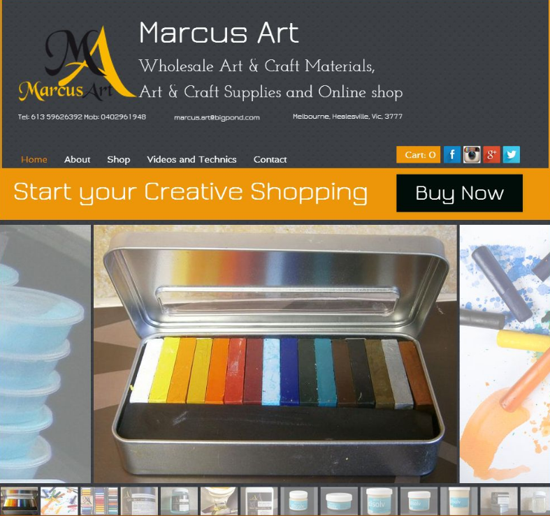 Art materials melbourne art craft supplies and online shop for Art craft online store
