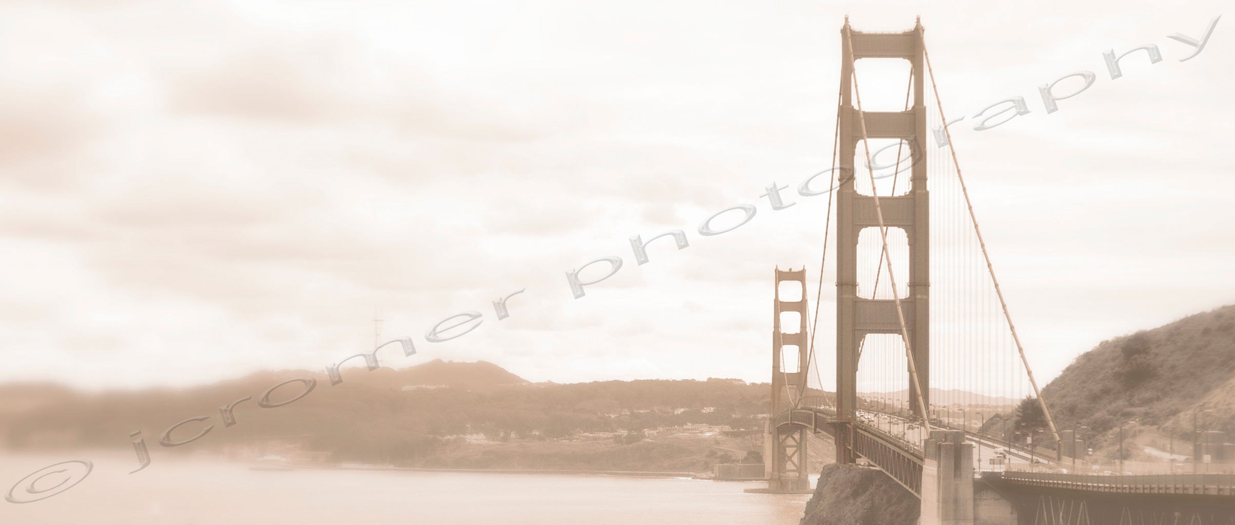 Golden Gate Faded - March 2012