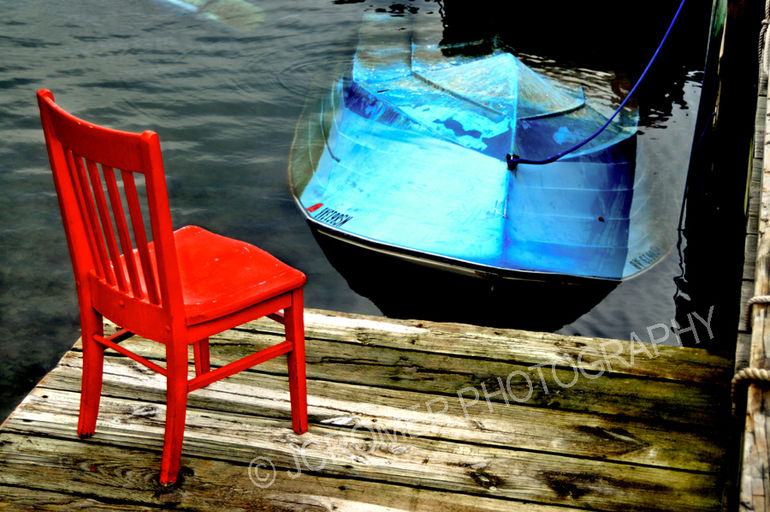 JCromer_Red Chair Blue Boat_372011.jpg