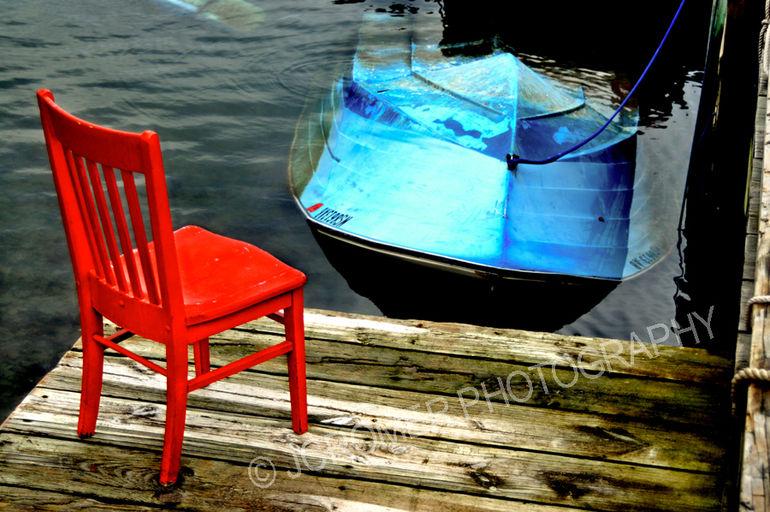 JCromer_Red Chair Blue Boat_372011.jpg