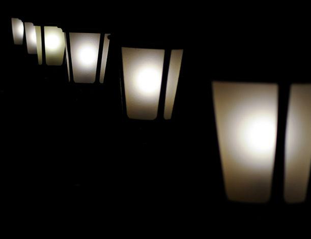 newport lights on the harbor