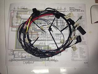 911 porsche wiring harnesses