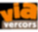 Logo Via Vercors psite douce en montagne pour vélos à assistance électrique