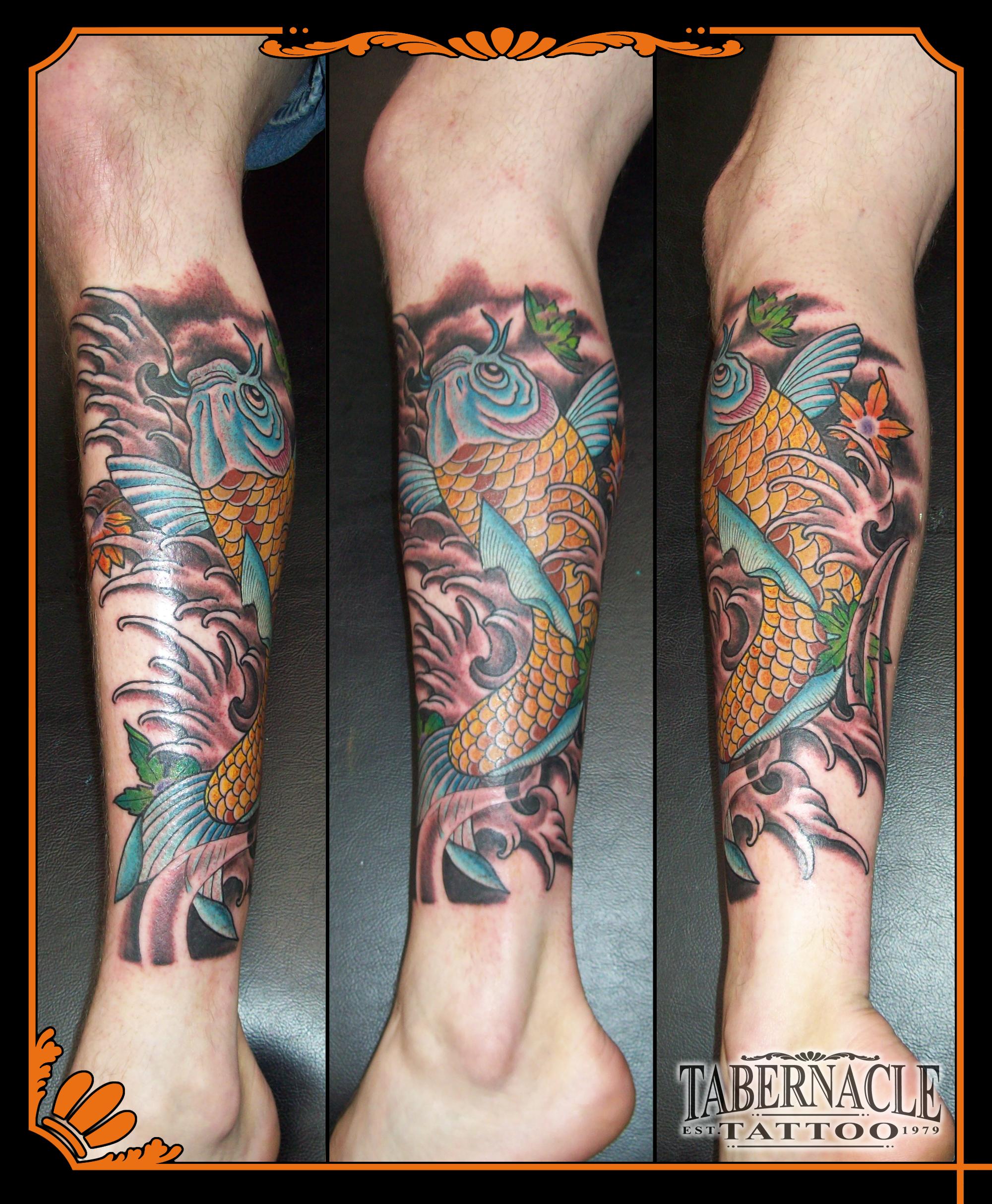 Tabernacle tattoo tampa koi fish tattoo for Best tattoo shops in tampa
