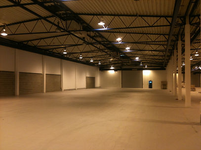 Painting of an industrial premises in Nottingham