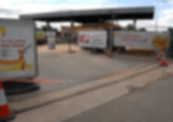 Shell Petrol Station Refurb