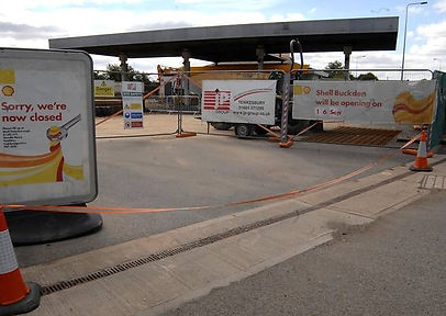 Shell Petrol Station Refurb