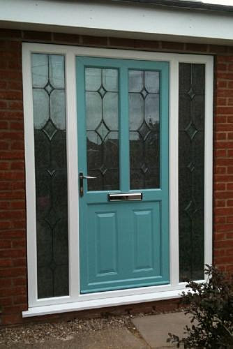 Sherwood windows double glazing newark 0800 195 7116 for Double door with side windows
