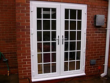 Window fix of solihull double glazing 0121 704 1339 for Upvc french doors with georgian bar
