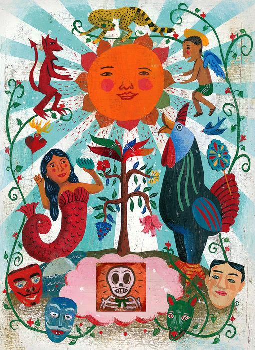 Folk Art of Mexico, 2012Impressão fineart em papel matte30,5 X 33 cm