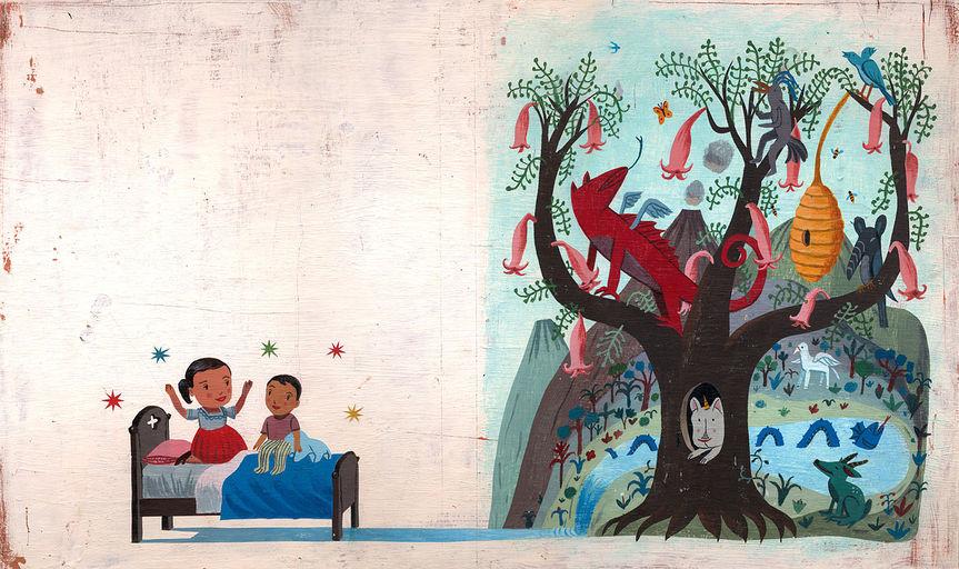 The Imagination Tree, 2011acrílica sobre placa de ilustração48,2 X 28 cm